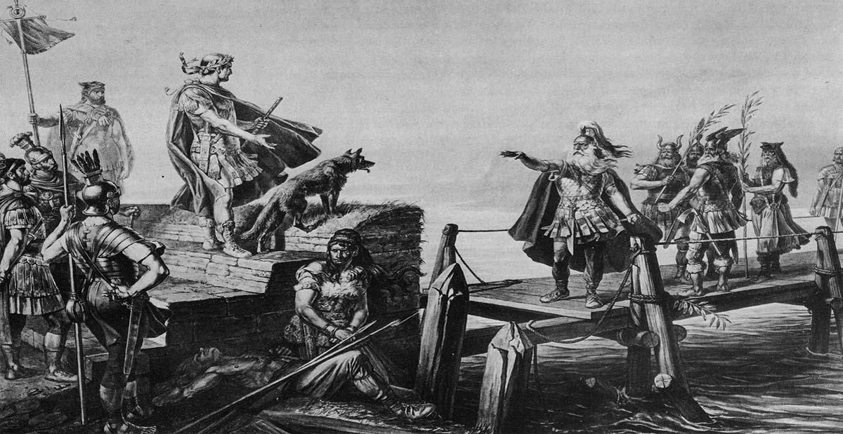 Divico et Jules César