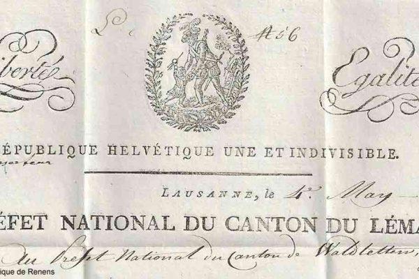 Acte de médiation entre 1812 et 1815