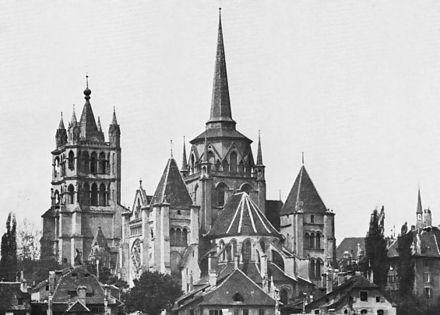 Cathédrale de Lausanne 1873