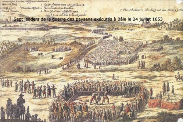 Guerre des Paysans 1653