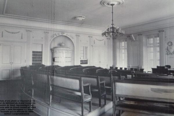 Salle Perregaux Grand Conseil vaudois