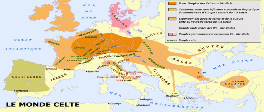 Origines et expansion des celtes