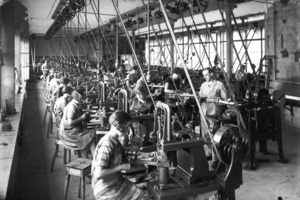 chaine fabrication