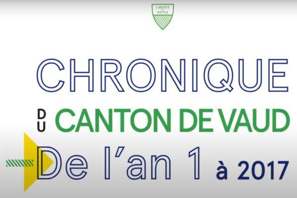 Chronique du Canton de Vaud